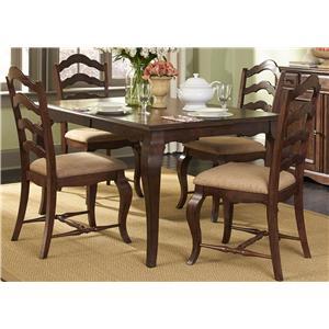 Liberty Furniture Woodland Creek  5 Piece Rectangular Table and Chair Set