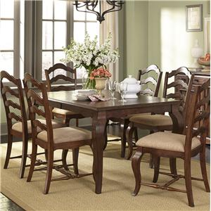 Liberty Furniture Woodland Creek  7 Piece Dining Table and Chairs Set
