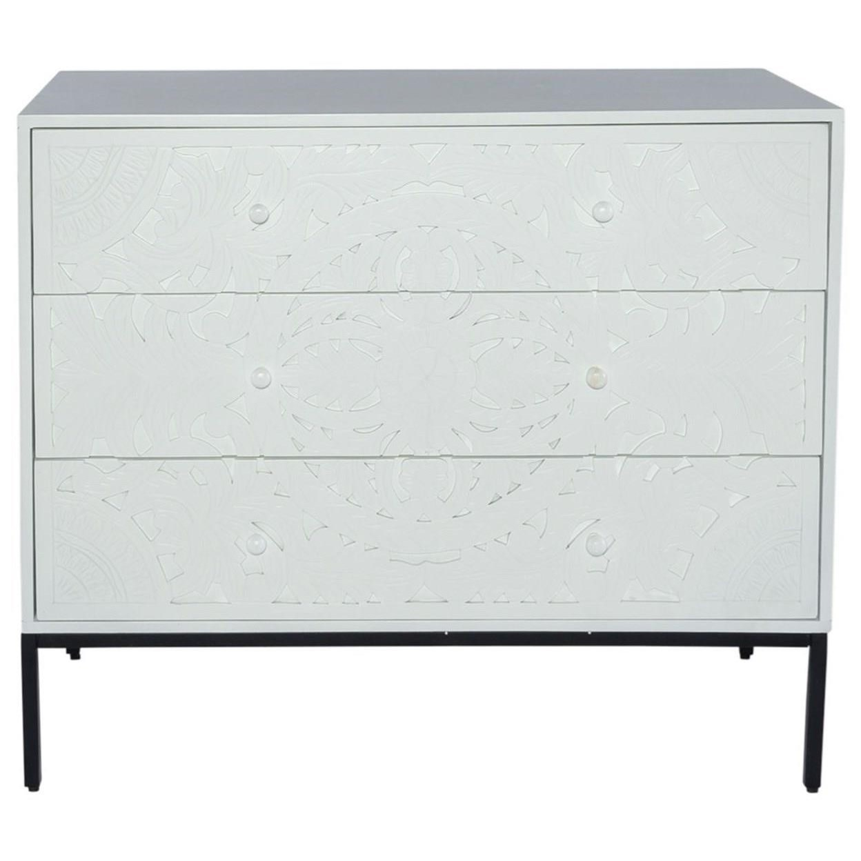 Woodlyn 3-Drawer Accent Chest by Libby at Walker's Furniture