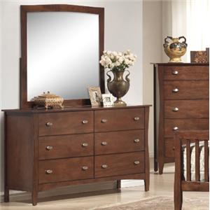 Lifestyle 0110 Dresser and Mirror