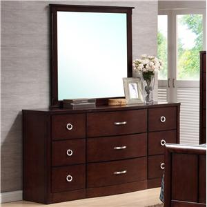 Lifestyle 1173 Dresser and Mirror
