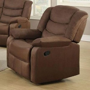 Power Recliner with Pillow Arms