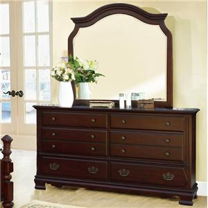 Lifestyle 2132A Dresser and Mirror