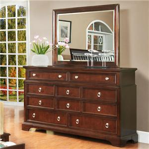 Lifestyle 2146A Dresser and Mirror