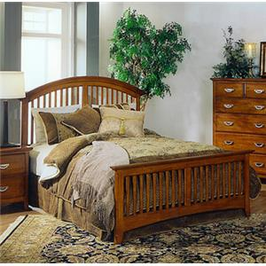 Lifestyle 4146L Headboard Footboard Slat Bed