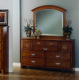 Lifestyle 4146L Dresser & Mirror Combo