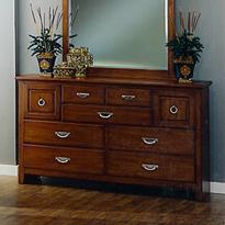 Lifestyle 4146L 7-Drawer Dresser