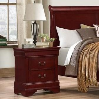 4937 2 Drawer Nightstand by Lifestyle at Beck's Furniture