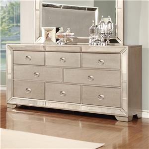 Lifestyle 5219A Dresser with 7 Drawers