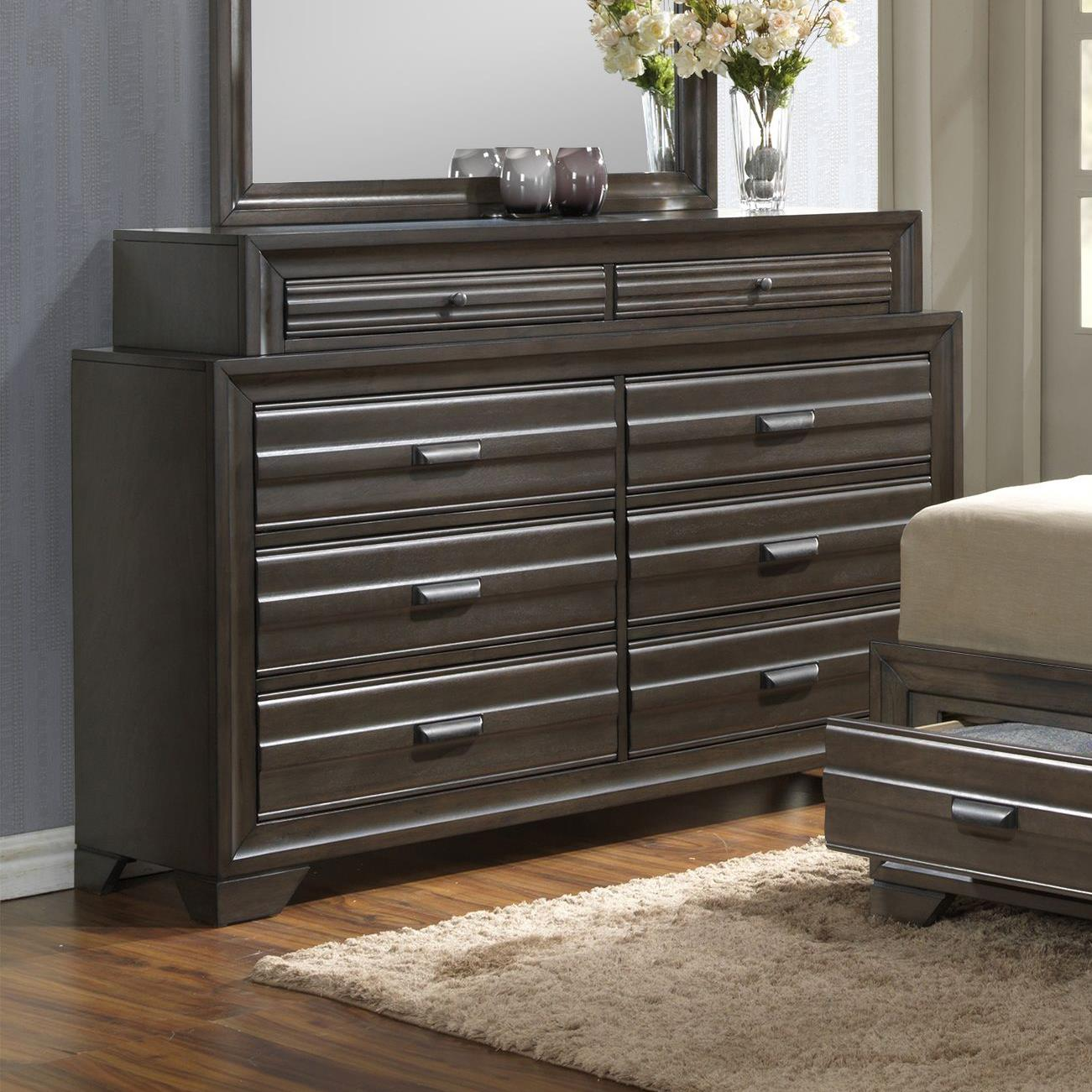 5236A 8 Drawer Dresser by Lifestyle at Beck's Furniture