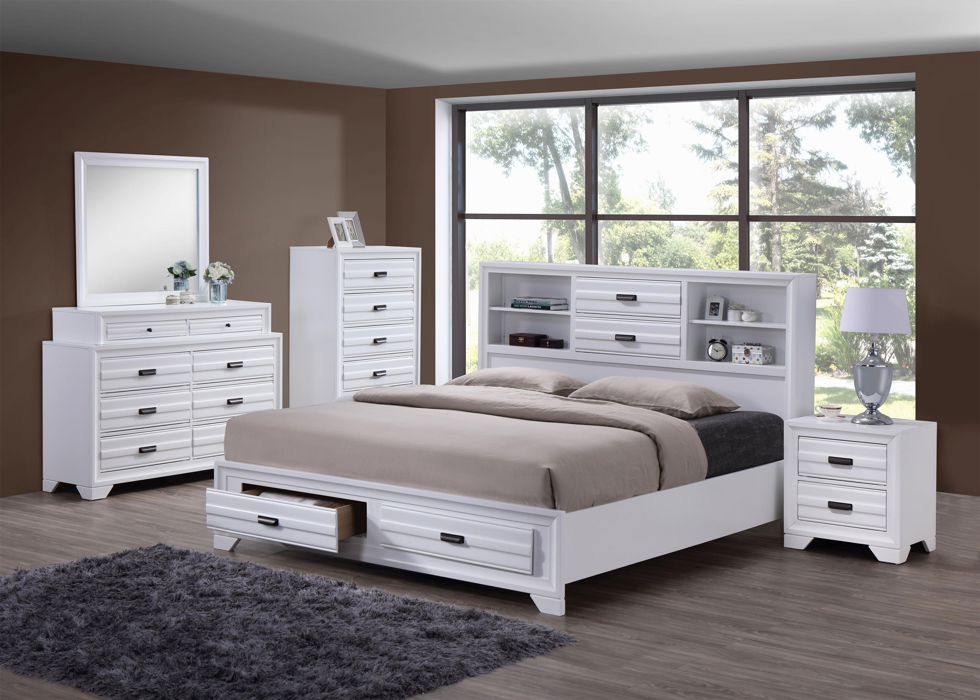 5236W Queen Bedroom Group by Lifestyle at Beck's Furniture