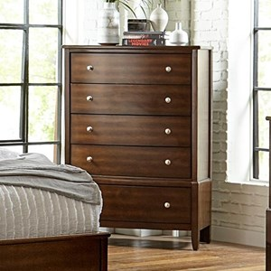 5-Drawer Tall Chest