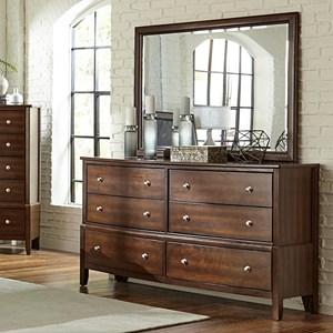 6-Drawer Dresser and Mirror Set