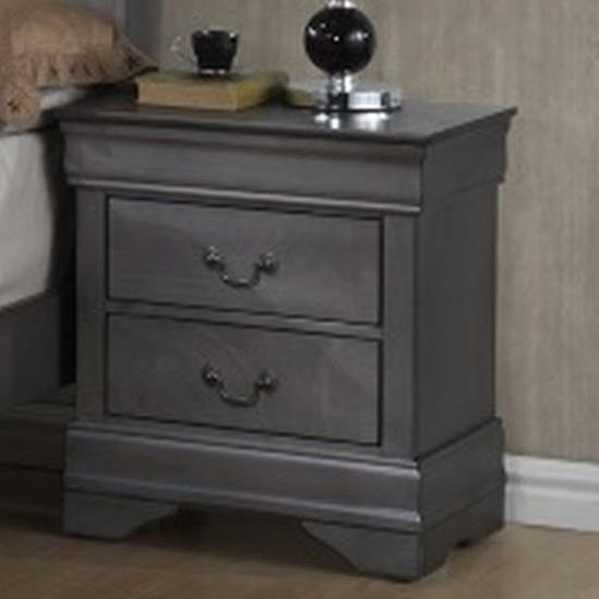 4934A Night Stand by Lifestyle at Beck's Furniture