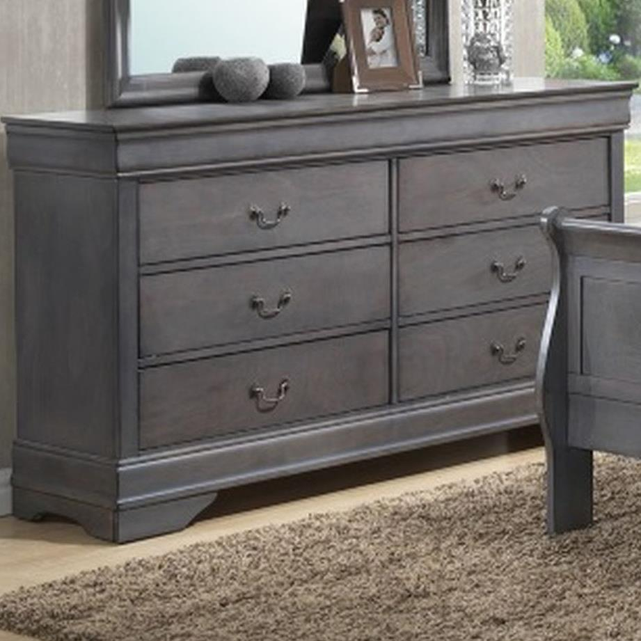 4934A 6 Drawer Dresser by Lifestyle at Beck's Furniture