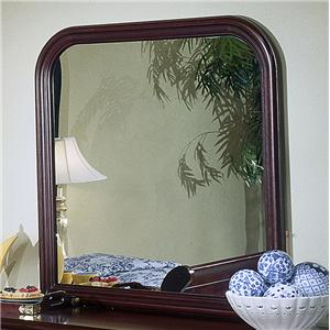 Square Dresser Mirror with Rounded Edges
