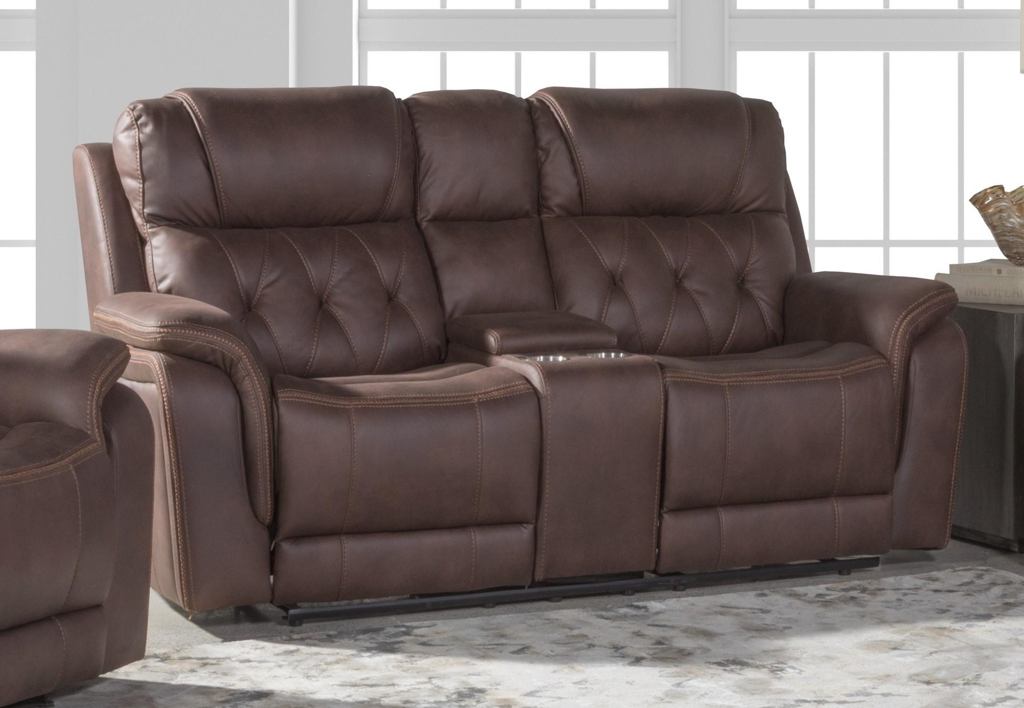 80243 RECLINING CONSOLE LOVESEAT by Lifestyle at Furniture Fair - North Carolina