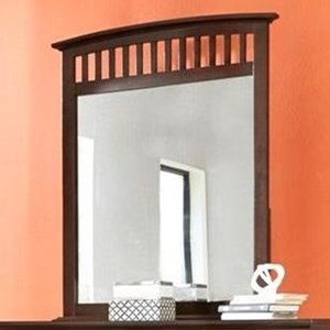 Dressor Mirror in Whiskey Finish