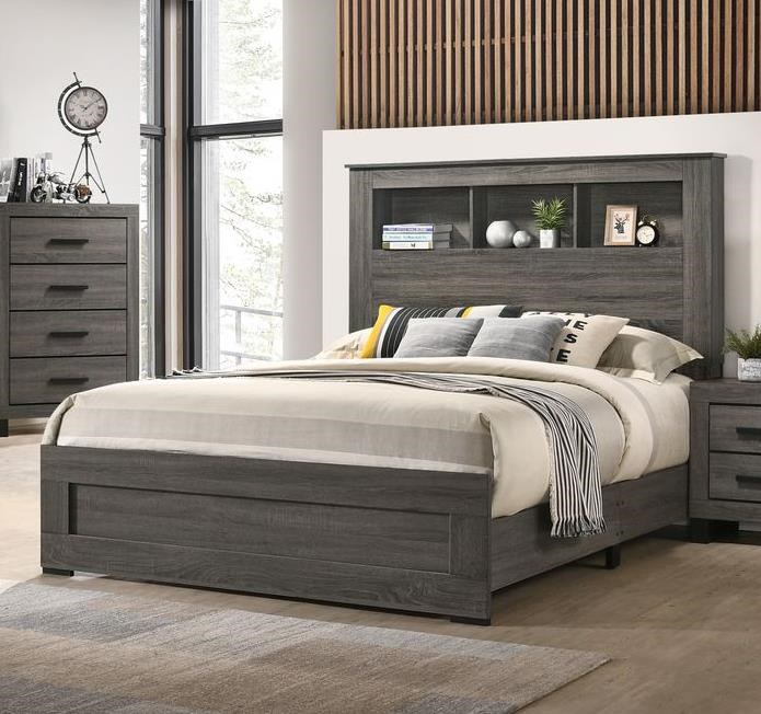 8321 Queen Bookcase Bed by Lifestyle at Sam Levitz Outlet