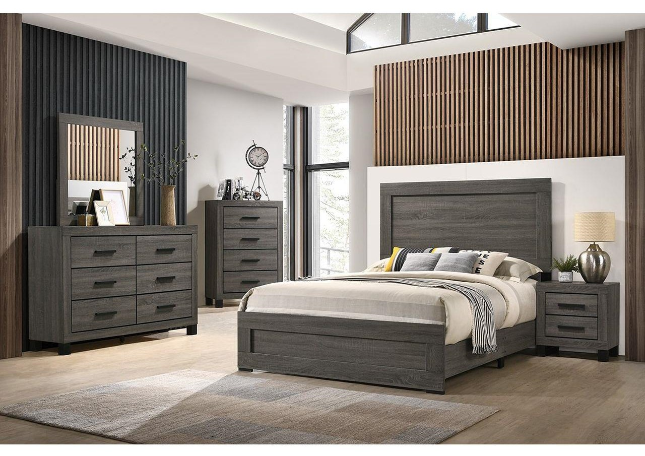 8321 6 Piece Queen Panel Bedroom Group by Lifestyle at Sam Levitz Outlet