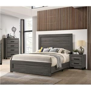 5 Piece Queen Panel Bedroom Group
