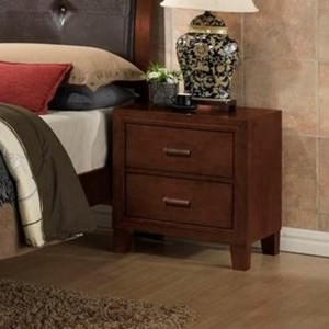 Nighstand With 2 Drawers