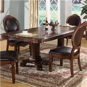 Lifestyle 9218D Rectangular Dining Table