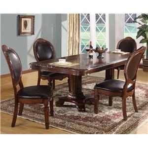 Lifestyle 9218D 5 Piece Table & Chair Set