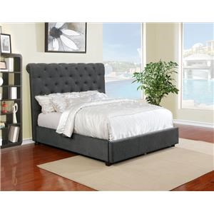 Queen Upholstered Bed Set