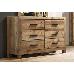 Natural Finish Dresser