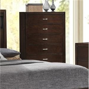 5 Drawer Contemporary Chest