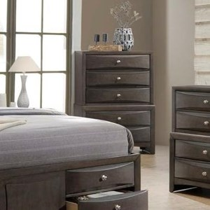 Chest w/ 5 Drawers