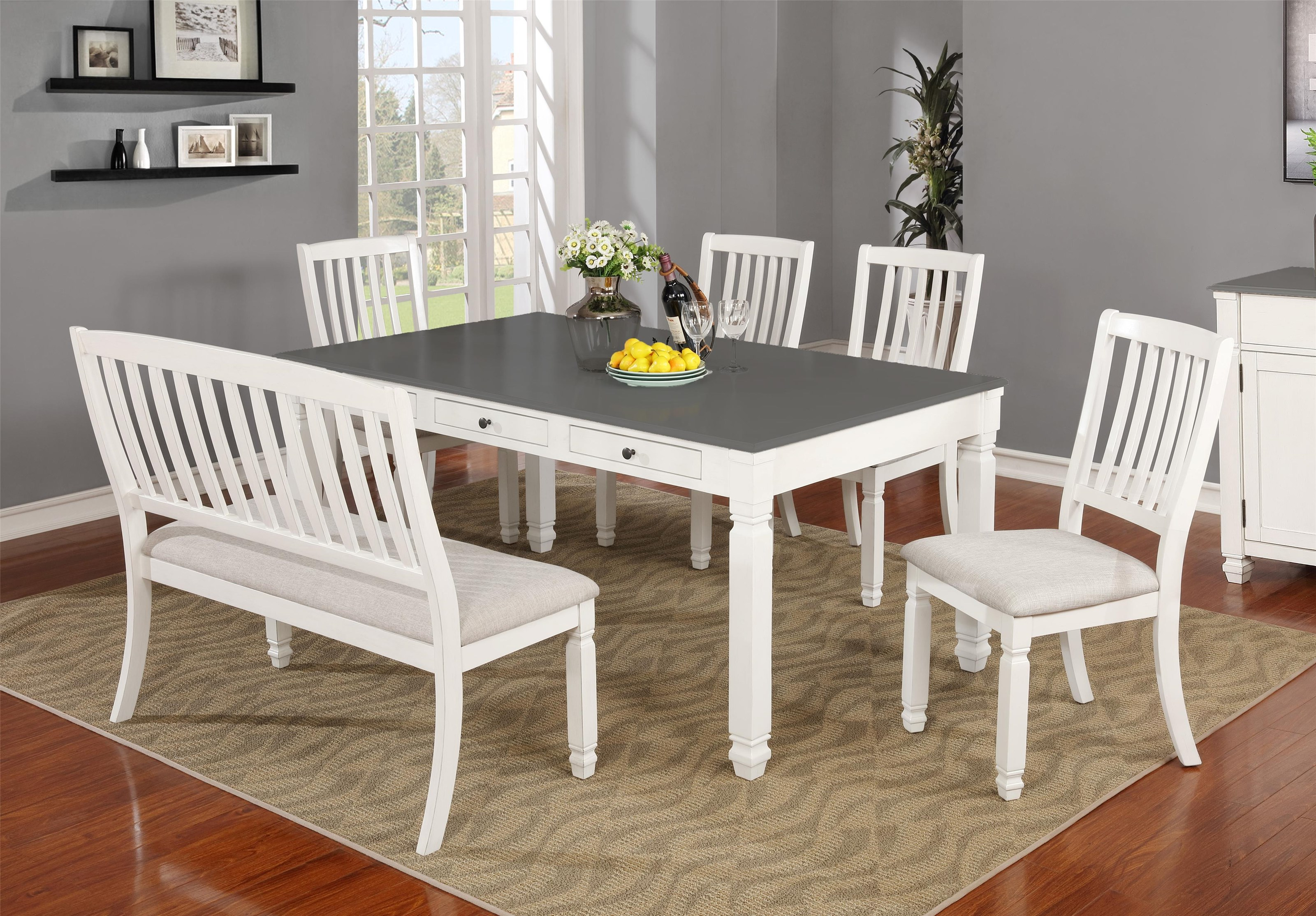 C1735 Table x 4 Chairs by Lifestyle at Furniture Fair - North Carolina