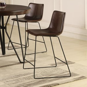 Set of Four Counter Height Stools