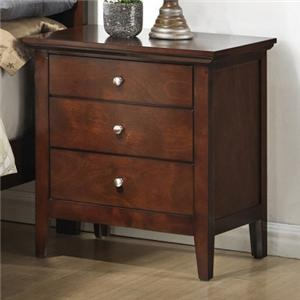 Night Stand w/ 3 Drawers