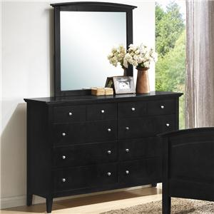 Lifestyle C3236A Dresser and Mirror