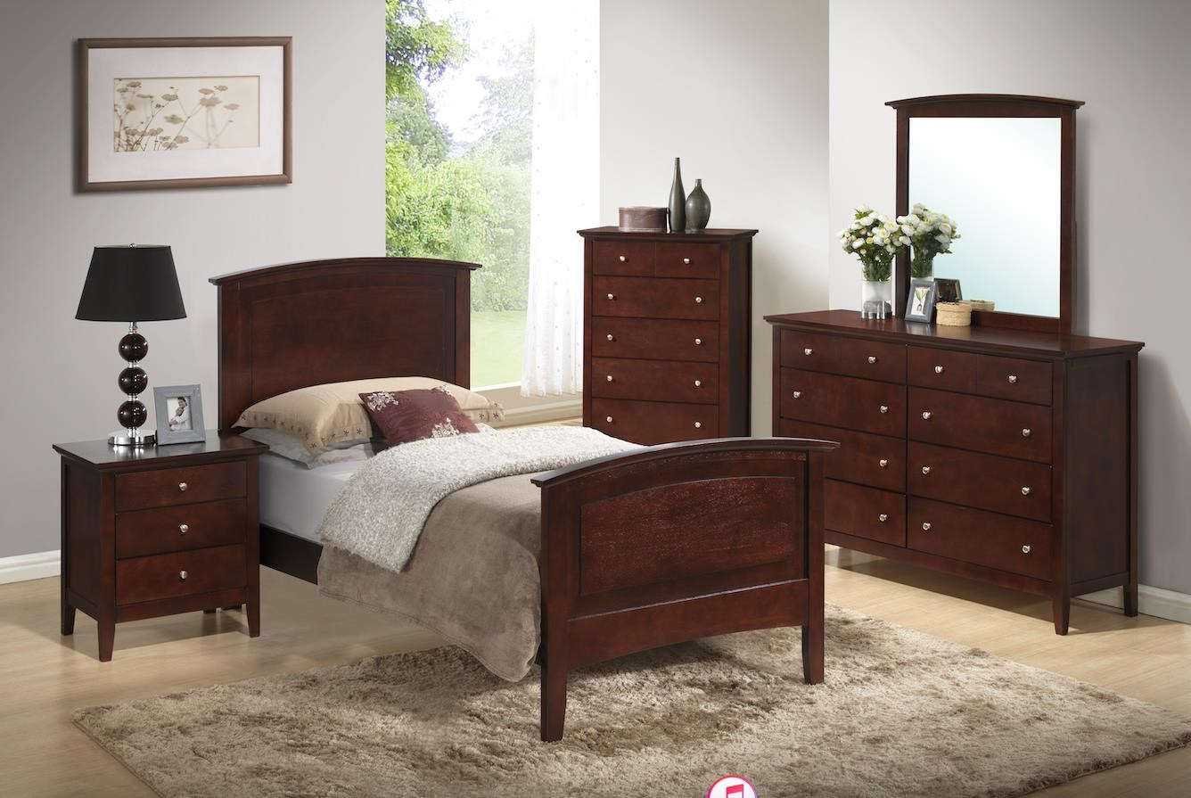C3136A Bedroom 6 Piece Twin Bedroom Group by Lifestyle at Sam Levitz Furniture
