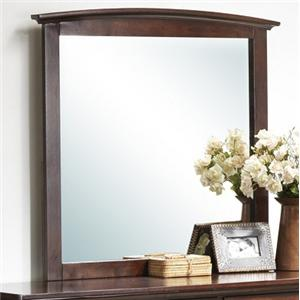 Transitional Vertical Mirror