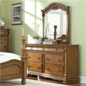 Lifestyle C3146A Dresser and Mirror