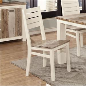 Lifestyle C347 Side Chair - Two Tone