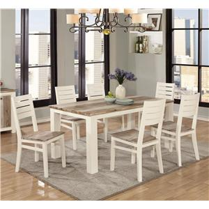Lifestyle C347 Table and Six Chairs Set