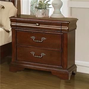 Lifestyle C4116A 3 Drawer Nightstand
