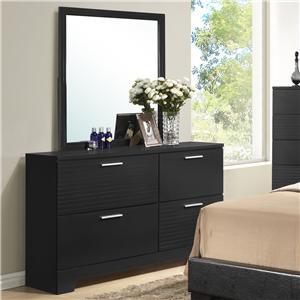 Lifestyle C4333A Dresser and Mirror