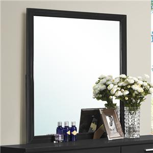 Contemporary Framed Dresser Mirror