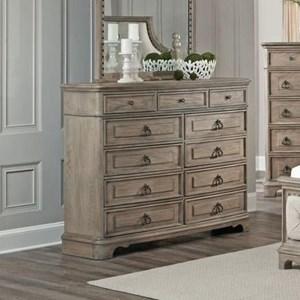 Eleven Drawer Dresser