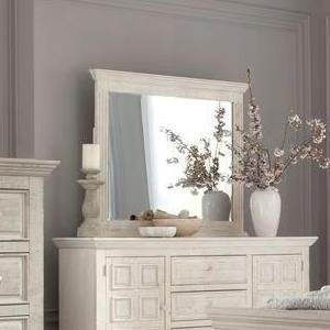 Dresser Mirror with Crown Molding