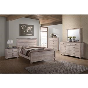7 Piece King Bedroom Group