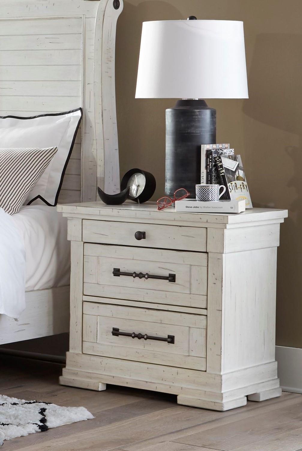 C8047 Three Drawer Nightstand by Lifestyle at Furniture Fair - North Carolina