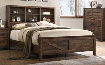C8100A Queen Bookcase Bed by Lifestyle at Furniture Fair - North Carolina