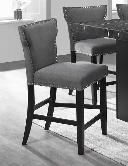 C8587 Gray Upholstered Bar stool by Lifestyle at Furniture Fair - North Carolina